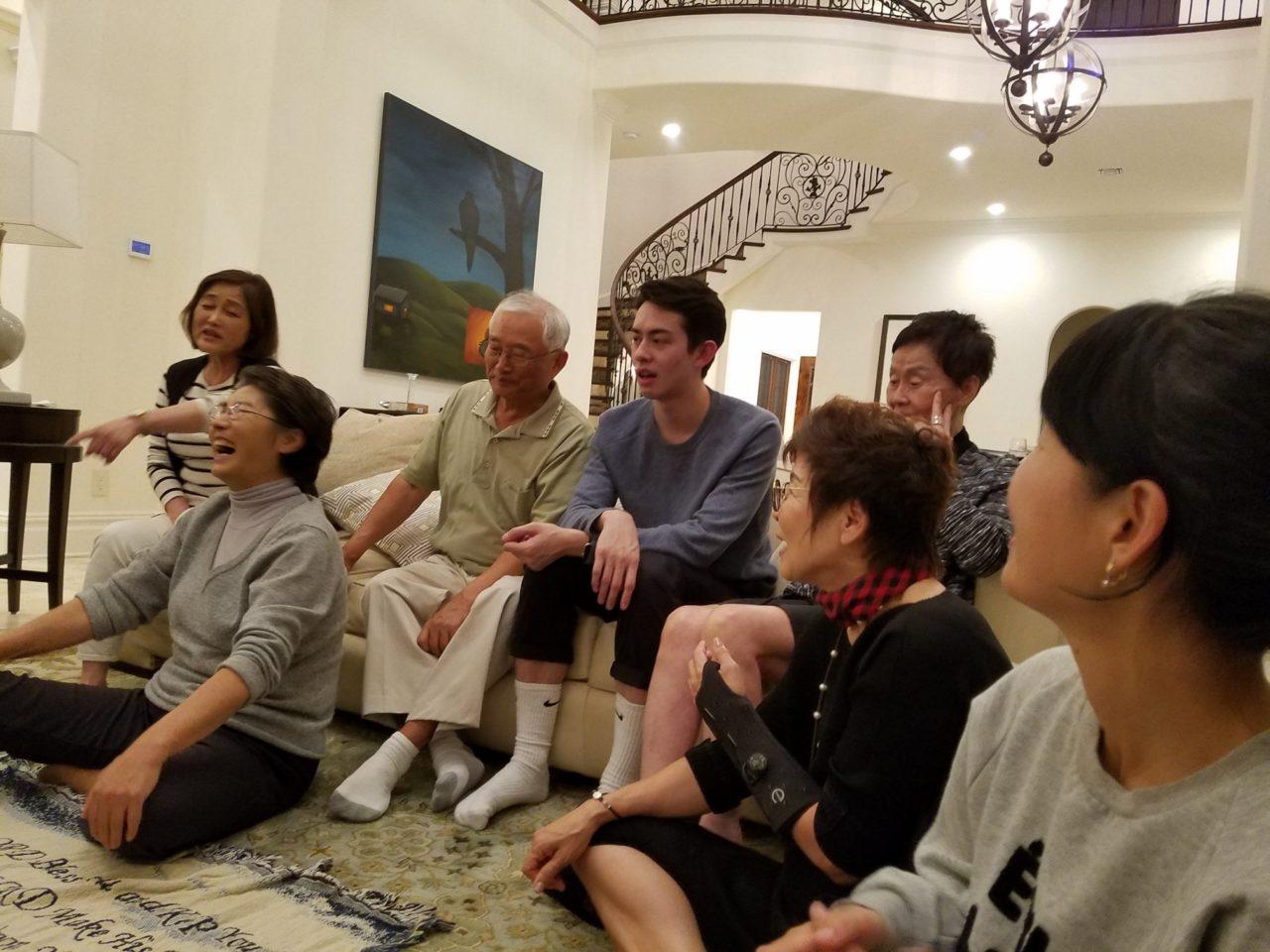새교우 가족 방문 및 친교